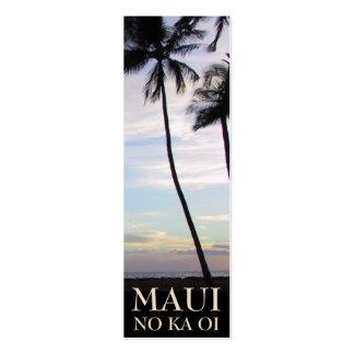 Señales de Maui Tarjeta De Visita
