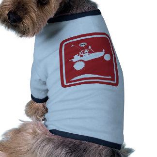 Señales de peligro del AIRE del CARRIL de la ARENA Camisa De Perro