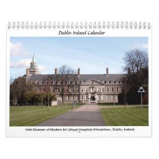 Señales famosas de Dublín Irlanda Calendarios
