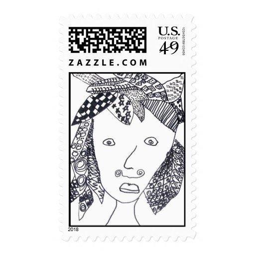 Senan Matsumoto Stamp