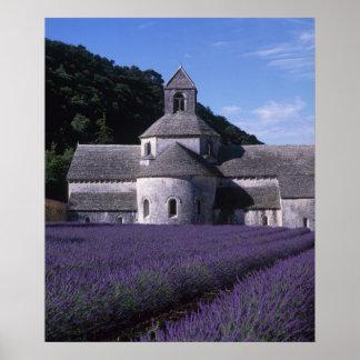 Senanque Abbey, Gordes, Vaucluse, Provence, 2 Poster
