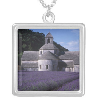 Senanque Abbey, Gordes, Vaucluse, Provence, 2 Silver Plated Necklace