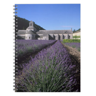 Senanque Abbey Gordes Vaucluse Provence Spiral Note Book