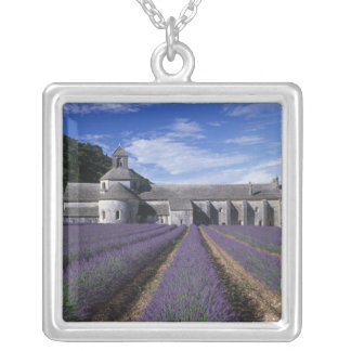 Senanque Abbey, Gordes, Vaucluse, Provence, Silver Plated Necklace