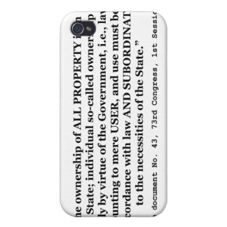 Senate Document No. 43 73rd Congress 1st Session Cases For iPhone 4