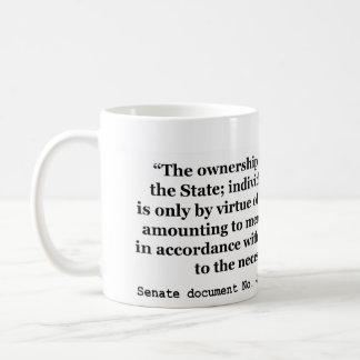 Senate Document No. 43 73rd Congress 1st Session Coffee Mug