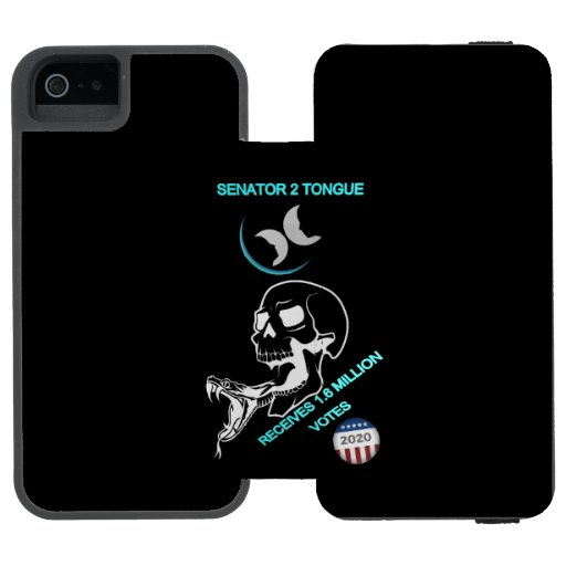 SENATOR 2 TONGUE iPhone SE/5/5s WALLET CASE