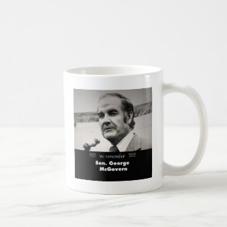 Senator George McGovern 1922-2012 Coffee Mug