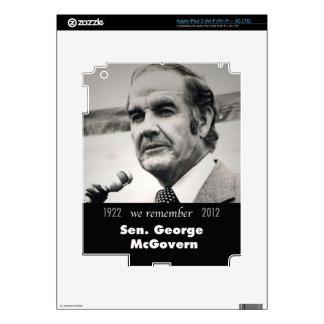 Senator George McGovern 1922-2012 iPad 3 Skin