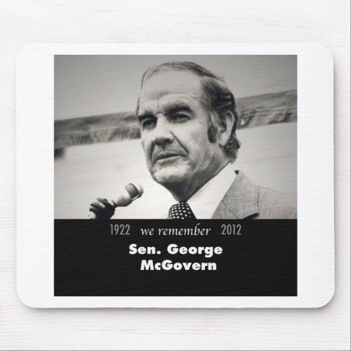 Senator George McGovern 1922-2012 Mousepad