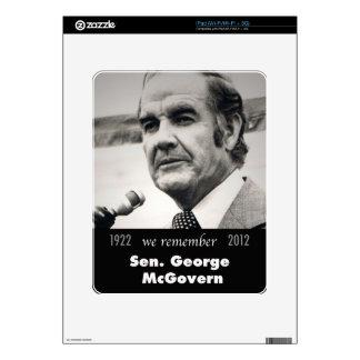 Senator George McGovern 1922-2012 Skin For iPad