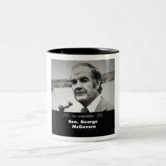Senator George McGovern 1922-2012 Two-Tone Coffee Mug