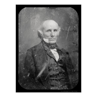 Senator Henry S. Foote Daguerreotype 1848 Poster