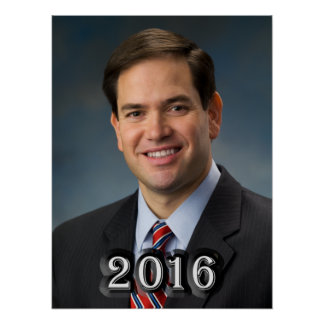 Senator Marco Rubio 2016 Poster