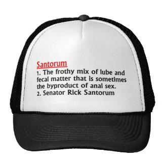 Senator Rick Santorum Mesh Hat