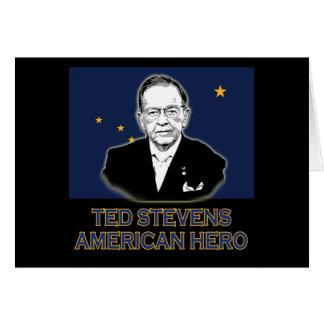 Senator Ted Stevens T-shirt,  American Hero Card