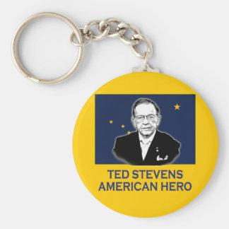 Senator Ted Stevens T-shirt,  American Hero Keychain