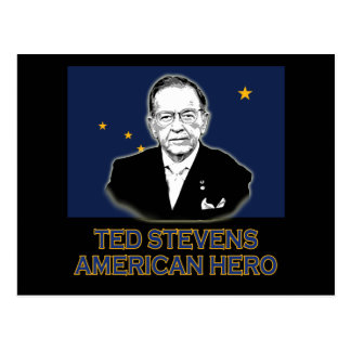 Senator Ted Stevens T-shirt,  American Hero Postcard