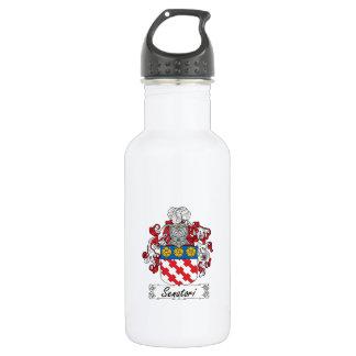 Senatori Family Crest 18oz Water Bottle