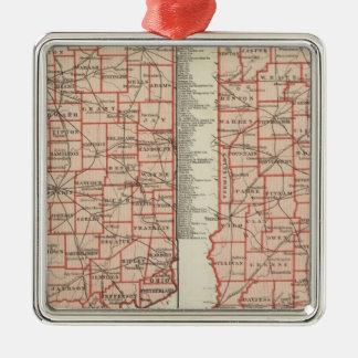 Senatorial districts 2 metal ornament