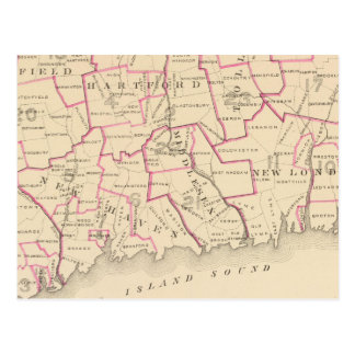 Senatorial districts postcard
