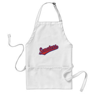 Senators in Red and Blue Aprons