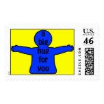 Send a Hug! Postage Stamps