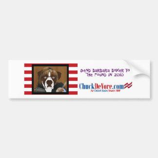 Send Barbara Boxer To The Pound In 2010 Bumper Sticker