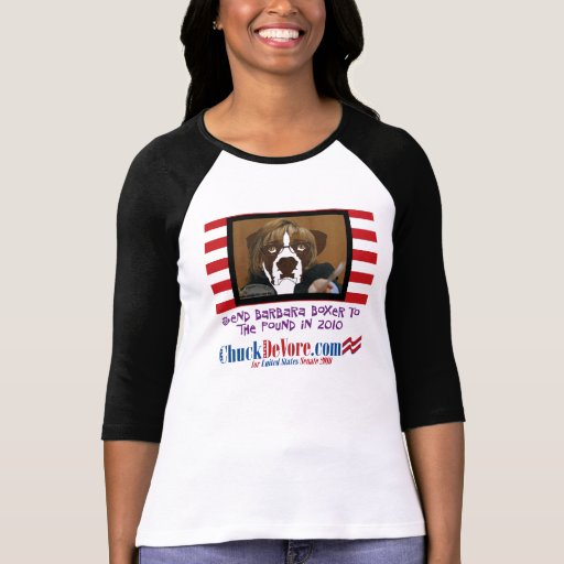 Send Barbara Boxer To The Pound In 2010 Tees
