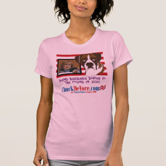 Send Barbara Boxer to the Pound in 2010 Tshirts