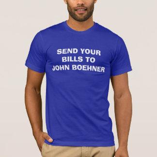 Send Bills to Boehner T-Shirt