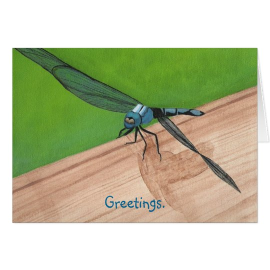 Send Greetings with Painted Dragonfly Cards