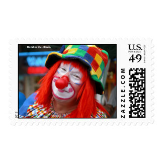 Send in the clown postage