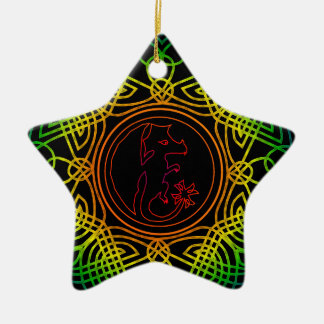 Send it Gaelic of protection with Dragoon - M1 Ceramic Ornament
