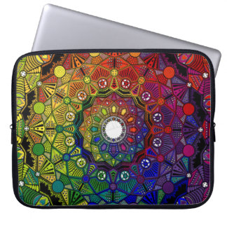 Send it to multicoloured force and protection - M1 Laptop Sleeve
