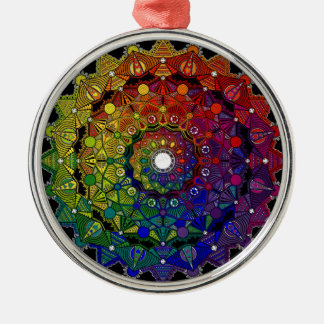 Send it to multicoloured force and protection - M1 Metal Ornament
