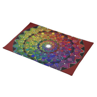 Send it to multicoloured force and protection - M1 Placemats