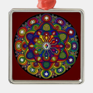 Send it to multicoloured love and protection - M2 Metal Ornament