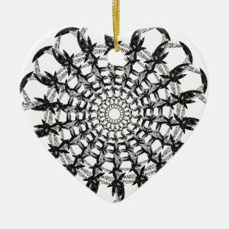 Send it V Ceramic Ornament