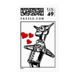 Send it With Love from the Tin Man - Wizard of Oz Postage Stamp