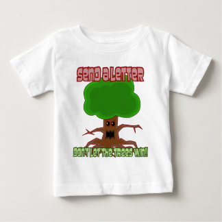 Send Letter Trees Win Design Baby T-Shirt