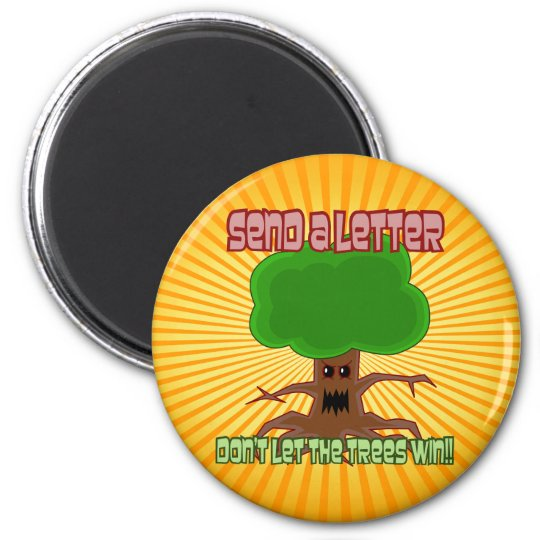 Send Letter Trees Win Design Magnet