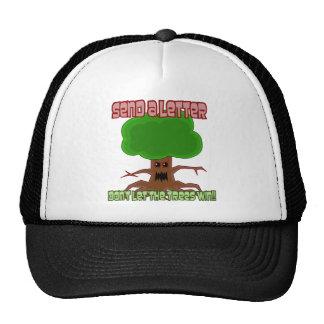 Send Letter Trees Win Design Trucker Hat
