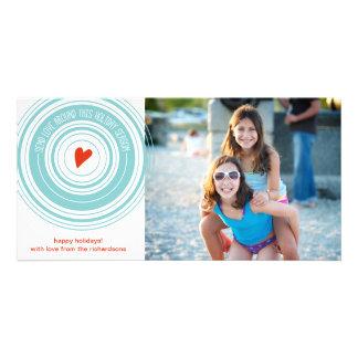 Send Love Around Photo Card