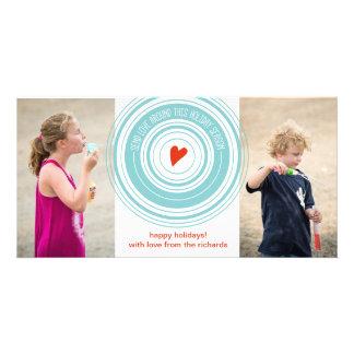 Send Love Around x2 Photo Card