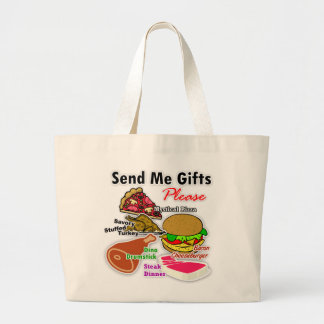 """Send Me Gifts"" Tote Bag"