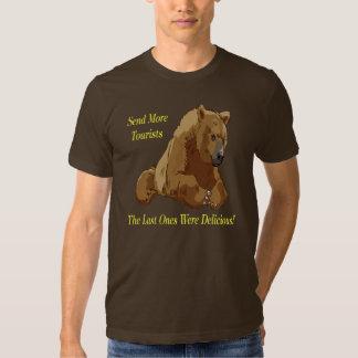 Send More Tourists T Shirts