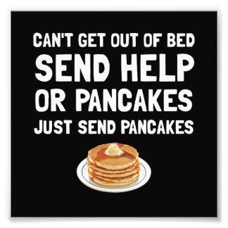 Send Pancakes Photo Print
