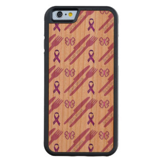 Send Spoons Carved Cherry iPhone 6 Bumper Case