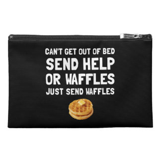 Send Waffles Travel Accessory Bags